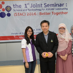 1st Joint Seminar in Science and Technology for ASEAN 1-2 August 2016