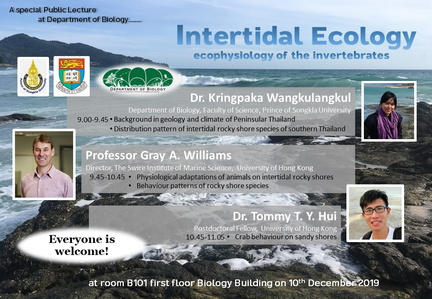 advert-lecture intertidal ecology